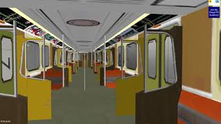 OpenBVE Toronto Line 1 YUS Finch - Vaughan Metropolitan Centre H4 train **Arcade Mode**