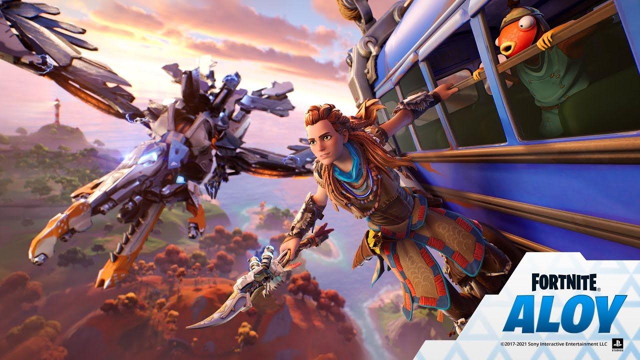 Aloy Arrives To The Fortnite Island
