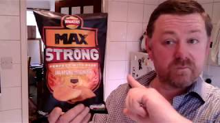 Marks REmarks Walkers Max Strong Jalapeno & Cheese crisps review