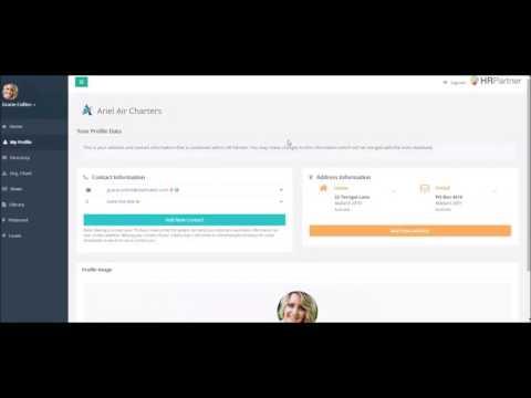 Cloud HRIS - HR Partner Demo