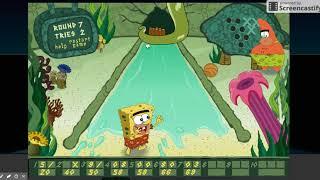 SpongeBob SquarePants: B.C. Bowling Gameplay