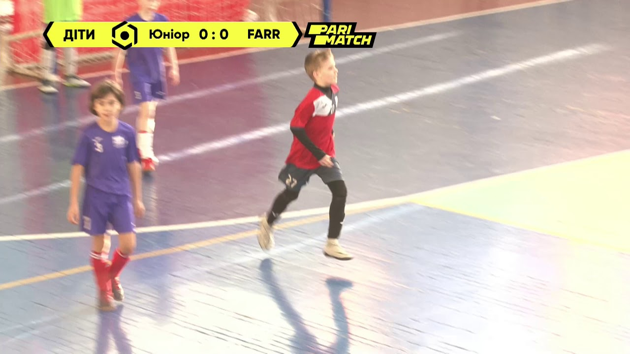 Матч повністю   Юніор-Спорт 11' 1 : 1 FARR 11'