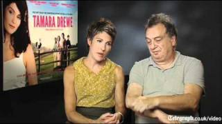 Tamsin Greig and Stephen Frears