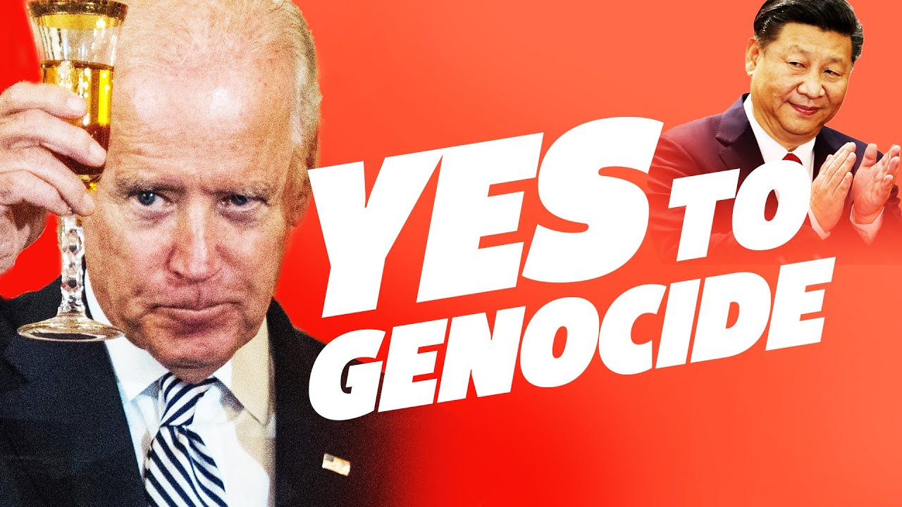 Biden Approves Muslim Genocide in This Video