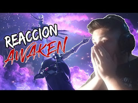 (21/01/2019) REACCIÓN A: Awaken (ft. Valerie Broussard) | LoL Cinematic - Season 2019