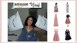 Amazon Try on Haul | Prom & Bridesmaids Dresses