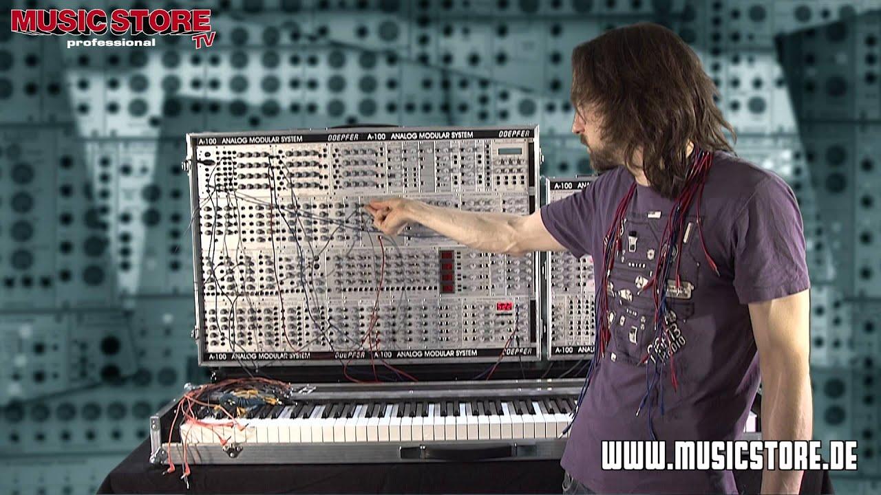 dr modular analog synthesizer workshop teil 2 youtube. Black Bedroom Furniture Sets. Home Design Ideas