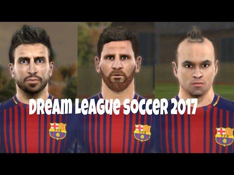 Dream league soccer 17 | Barcelona face | new season 2017-2018 #1 •Make me move•