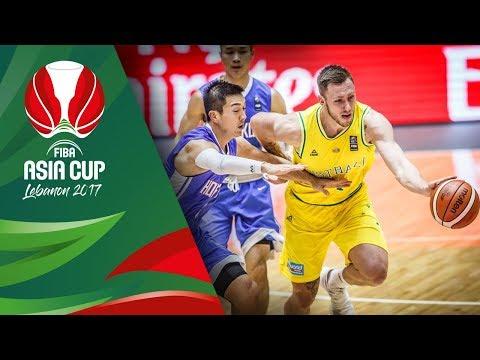 Australia v Hong Kong - Highlights - FIBA Asia Cup 2017