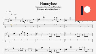 Unknown Mortal Orchestra - Hunnybee (bass tab)