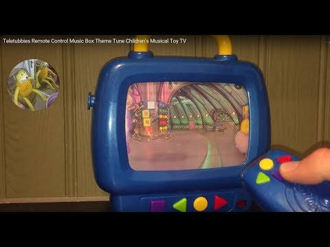 Teletubbies Remote Control Music Box Theme Tune Children's Musical Toy TV
