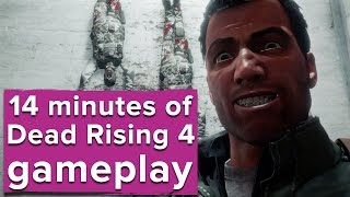 14 minutes of Dead Rising 4 Xbox One gameplay - E3 2016
