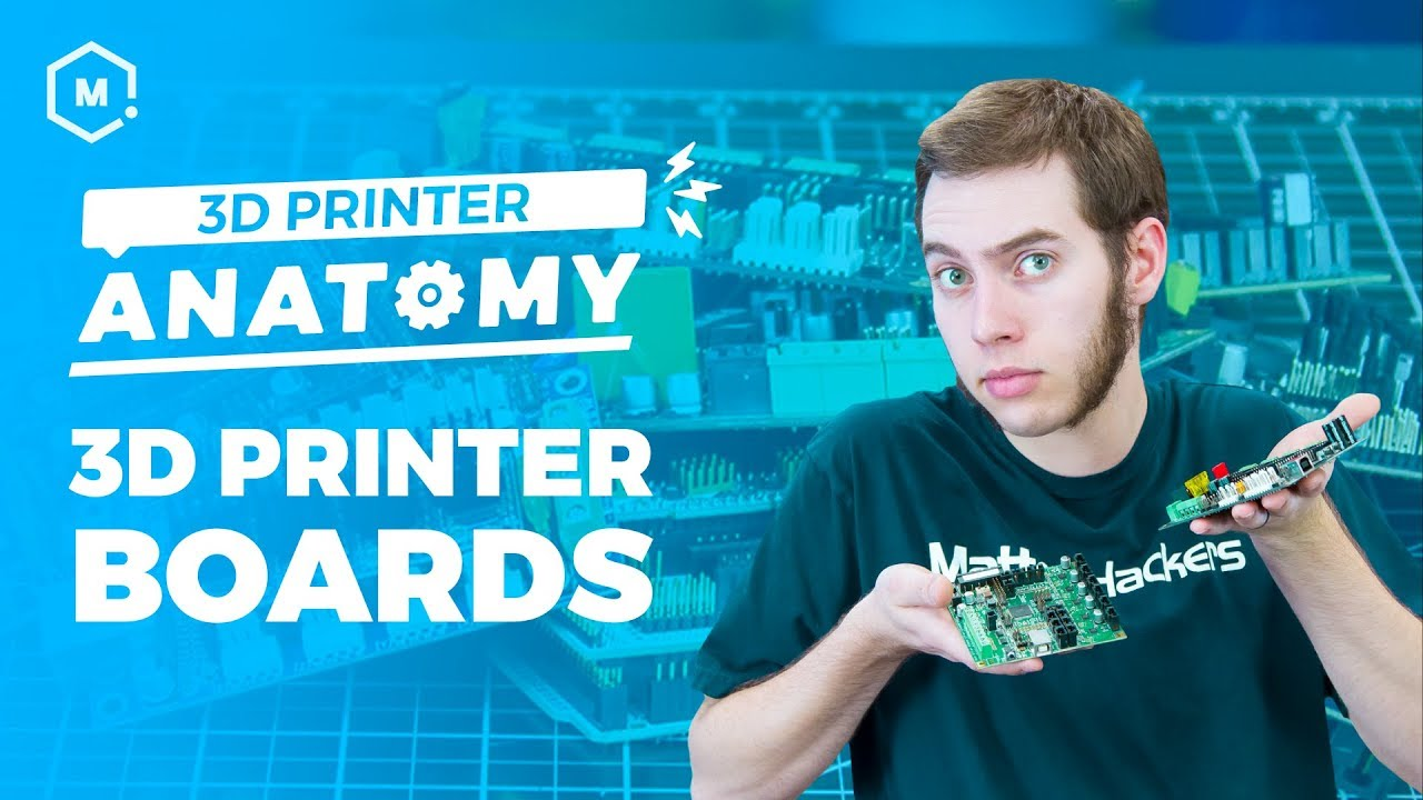 The Anatomy of a 3D Printer: Controller Boards | MatterHackers