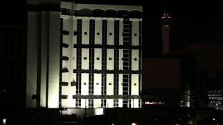 Raw: Explosive Send off for Las Vegas