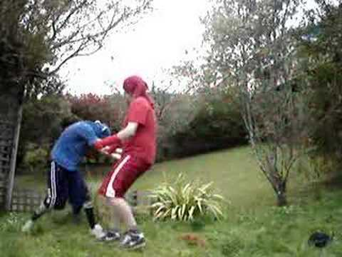Blood vs Crip fight - YouTube