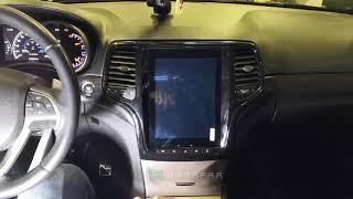 Штатная магнитола Parafar с IPS матрицей Tesla для Jeep Grand Cherokee на Android 7.1 (PF999T12)