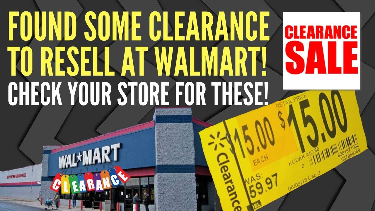 Looking In Walmart For Clearance to Resell on eBay and Amazon - Retail  Arbitrage Buying and Selling