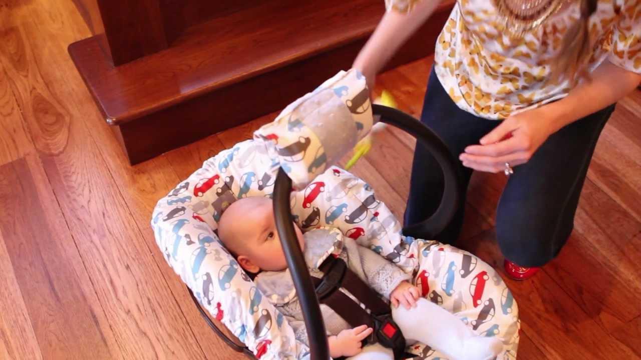 Infant Car Seat Handle Cushion