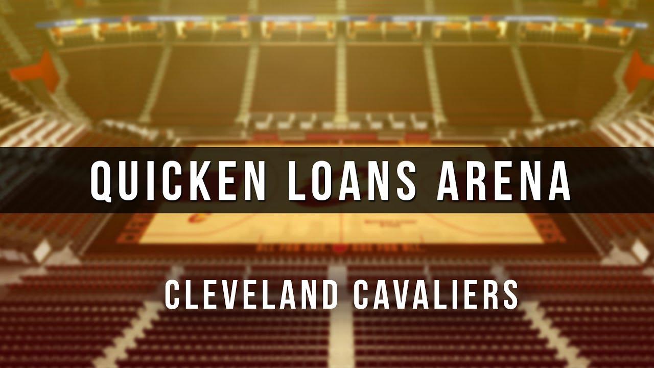 3d Digital Venue Quicken Loans Arena Nba Cleveland Cavaliers Youtube