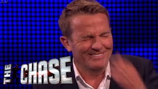 The Chase | Bradley Walsh Breaks Down Over 'Dick By The Bush' Question