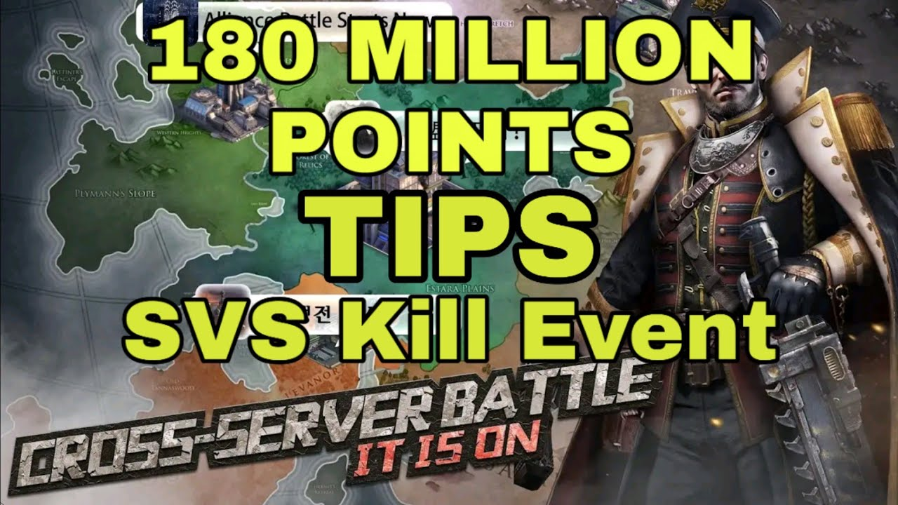 Last Shelter Survival svs Kill Event Tips | Secret Tips To Score 150 Million Points in Kill Event |