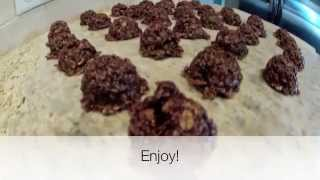 How To Make The World's Best Oatmeal Cookies | Tutorial On No-bake Cookies | Amazing Cookie Recipes