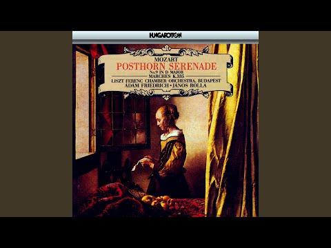 """Serenade No. 9 in D major K. 320 """"Posthorn"""": VII. Finale. Presto"""