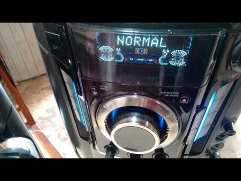 Mini system LG mct704 vol30