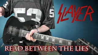 Slayer - Read Between The Lies - guitar cover with solo
