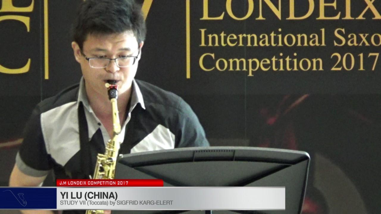 Londeix 2017 - Yi Lu (China) - VII Toccata by Sigfrid Karg Elert