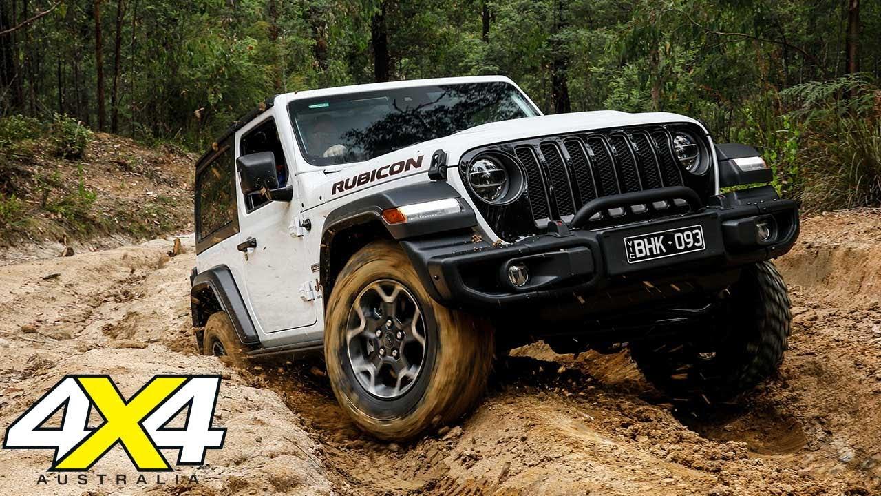 Jeep JL Wrangler Rubicon Recon tested off-road | 4X4 Australia