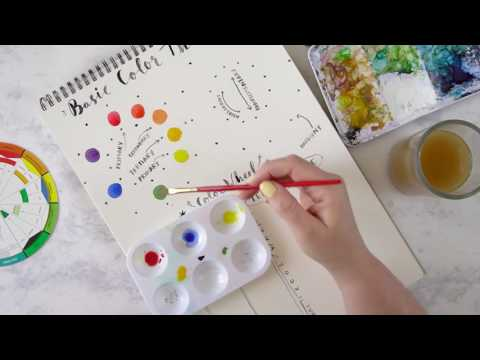 Basic Color Theory / Fragment from Skillshare Class
