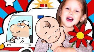 КИДЛАНДИЯ Влог Амелька Флорист Врач Скорой Помощи и Продавец Супермаркета Развлечения для детей