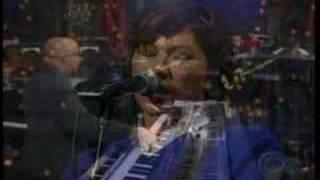 Pixies -Monkey Gone to Heaven on Letterman
