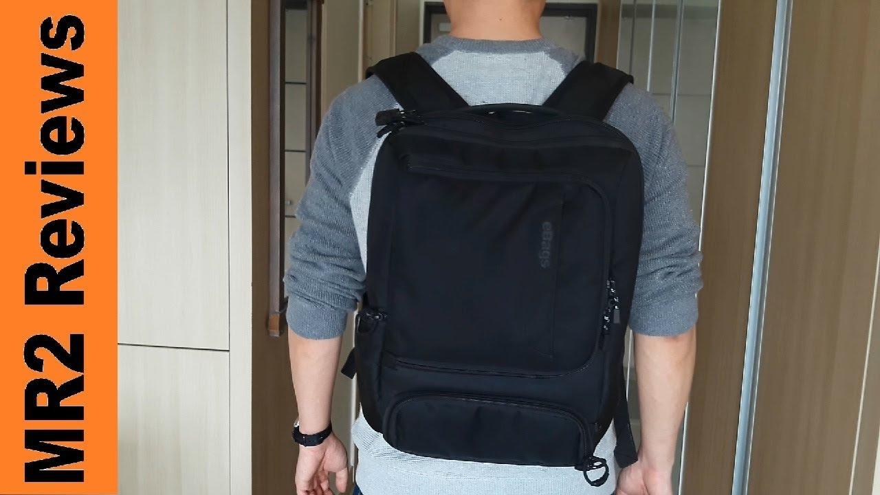 3eb690b2eb eBags Professional Slim Junior Backpack Review - YouTube