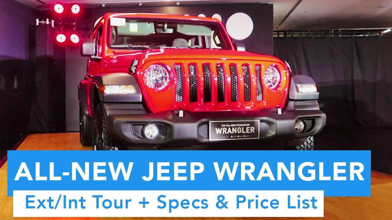 2019 All-New Jeep Wrangler Launch (Ext/Int Quick Tour and Pricing)