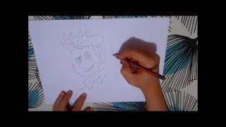 How to draw Wild Kratts