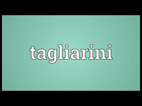 Header of tagliarini