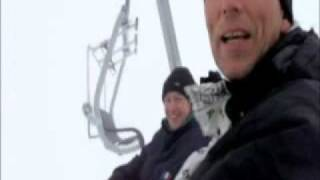 Snowboaring in Lillehammer, Norway
