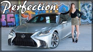 The Ultimate VIP Luxury Sedan or Nah? // 2019 Lexus LS500 F-Sport
