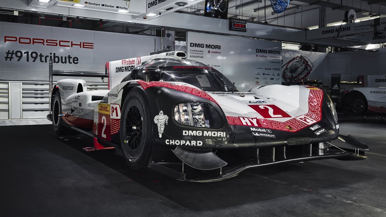 Time To Say Goodbye A World Tour With The 919 Hybrid In 2018 Porsche