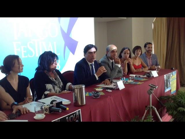 Conferenza stampa presentazione 18 edizione Catania Tango Festival