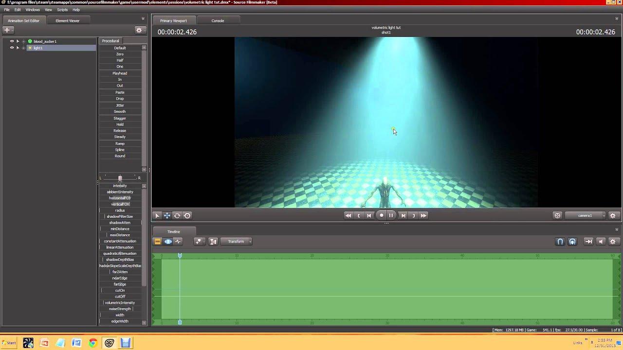 Sfm tutorial volumetric lighting youtube baditri Gallery