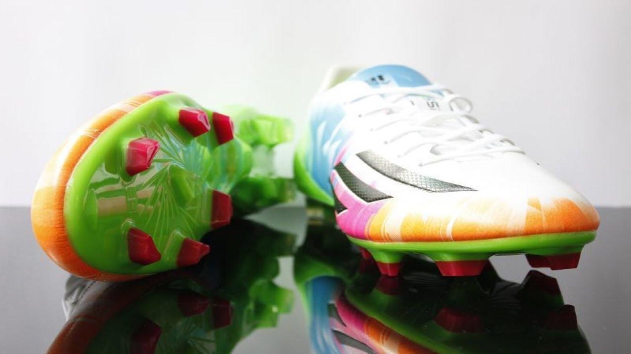 Adidas F50 Adizero Trx Fg Messi Review Youtube