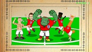 estonia vs england 0 1 12 10 14 rooney freekick cartoon euro 2016 goals highlights