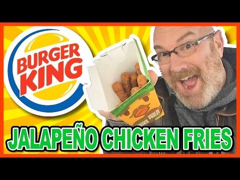 Burger King Jalapeño Chicken Fries