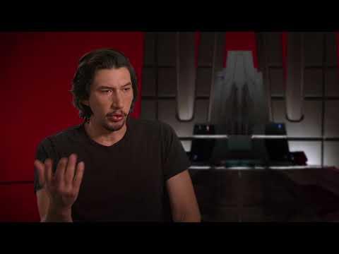 Star Wars: The Last Jedi: Adam Driver 'Kylo Ren' Behind the Scenes Official Movie Interview