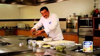 Lasagna de pollo con CREMA DE LECHE NESTLÉ ®  por Franco Basile