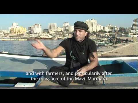Vittorio Arrigoni ISM journalist and human rights defender murdered in Gaza on April 14 2011