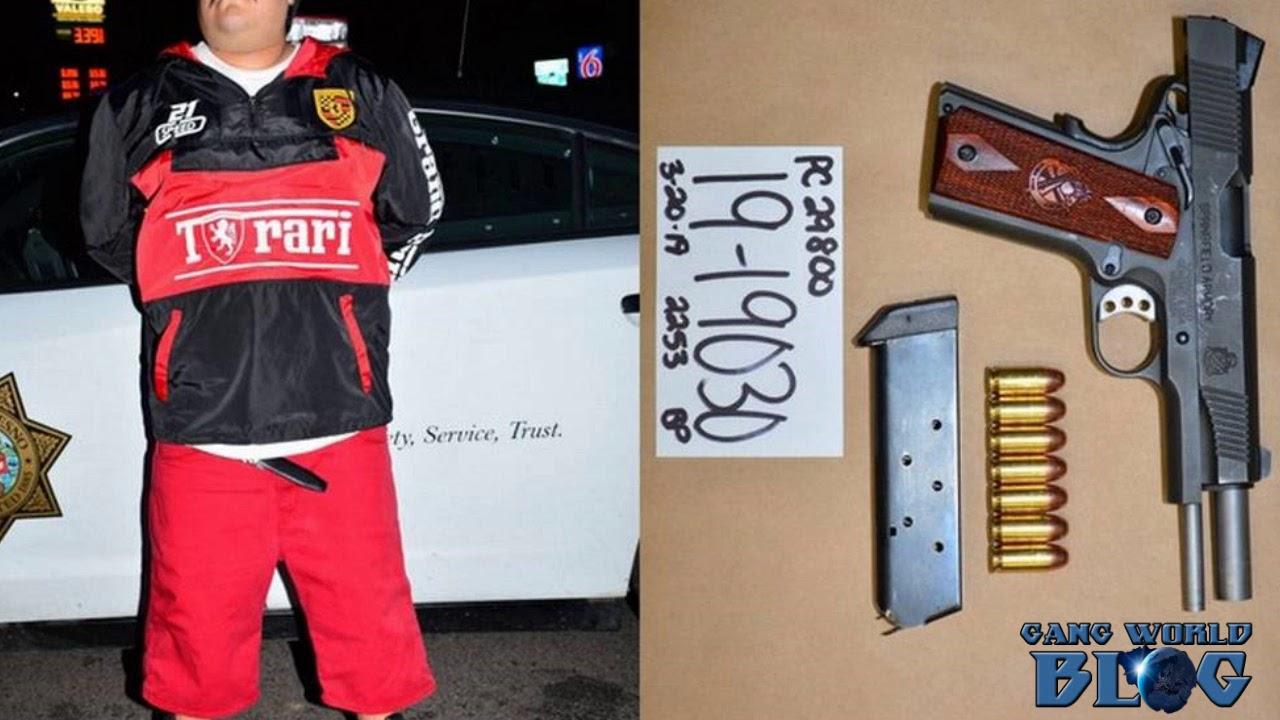 Norteno member arrested in Fresno, California